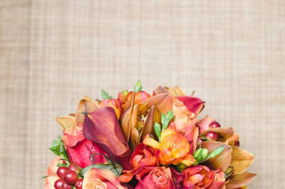 Les plus beaux bouquets de mariée avec des tulipes 2017