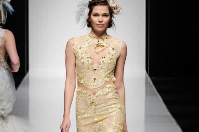 Découvrez l'élégante collection 2016 des robes de mariée Faragé