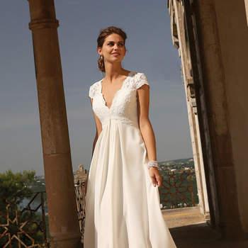 Vestidos de novia Linea Raffaelli 2017. ¡Un look de lo más chic!