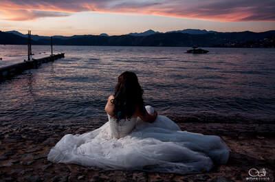 'Trash the Dress' Wedding Photography by Arturo Ayala