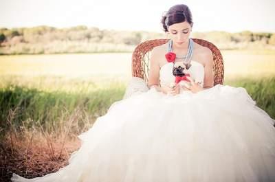 Los 50 vestidos de novia con falda voluminosa para este 2017. ¡Encuentra tu favorito!