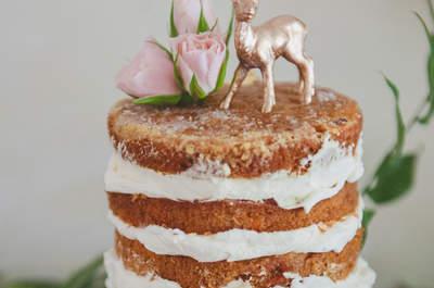 Die leckersten Naked Cakes für Ihre Hochzeitsfeier!