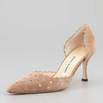 Sapatos de noiva Manolo Blahnik 2017. Modelos exclusivos!