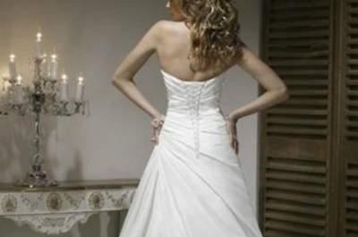 Sélection de robes de mariée avec bustier lacé