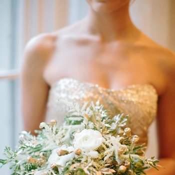 Wedding Decor Highlight: Gold