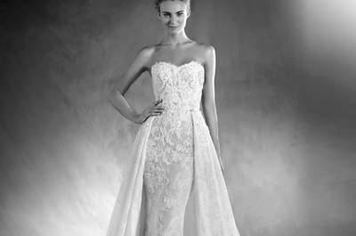 Beeindruckende Brautkleider von Pronovias 2017 – Einfach zauberhaft!