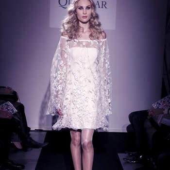 Collection Ana Quasoar Couture 2016 : pour une mariée naturelle et radieuse