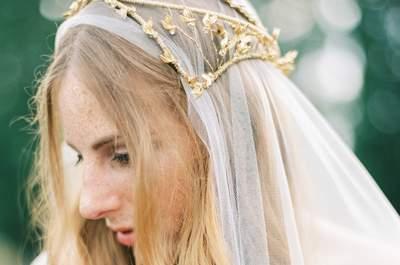 Свадебные головные уборы: тенденции 2016