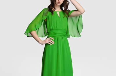 Vestidos de fiesta verdes 2017 llenos de detalles extraordinarios. ¡Elige tu estilo!