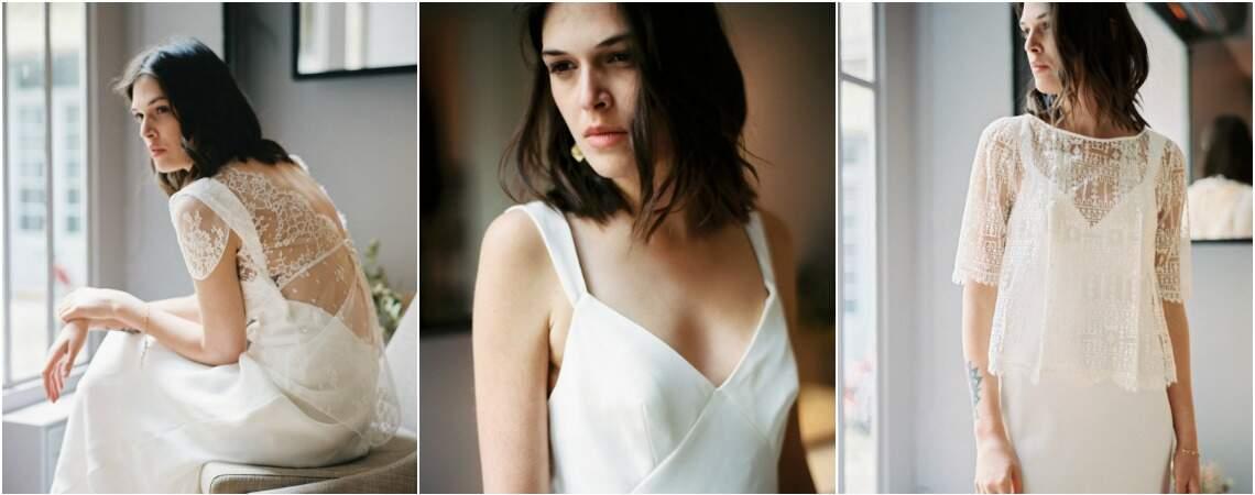 Robes de mariée Stéphanie Wolff 2017 : douceur et volupté