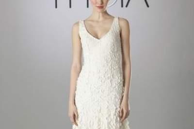 Romantische Brautkleider 2014