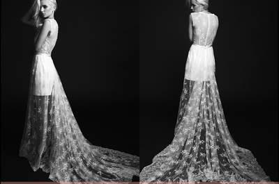 Robes de mariée Rime Arodaky 2015