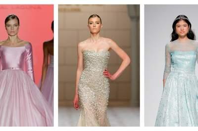 ¡Atrévete! ¡Dale color  a tu vestido de novia!