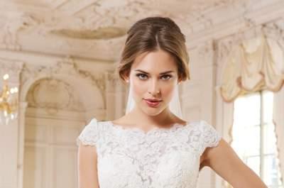 Traumhafte Brautkleider in der Kollektion 2015 von Lillian West: Für einen glamourösen Auftritt!