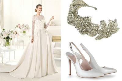 Inspírate con el look nupcial de Grace Kelly: la princesa más elegante del palacio