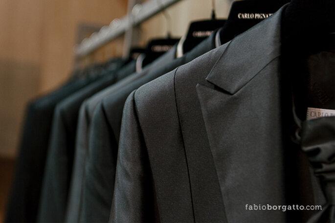 Propostas para o noivo no stand da Black Tie. CasaModa Noivas 2013 - Foto: Wilian Olivato