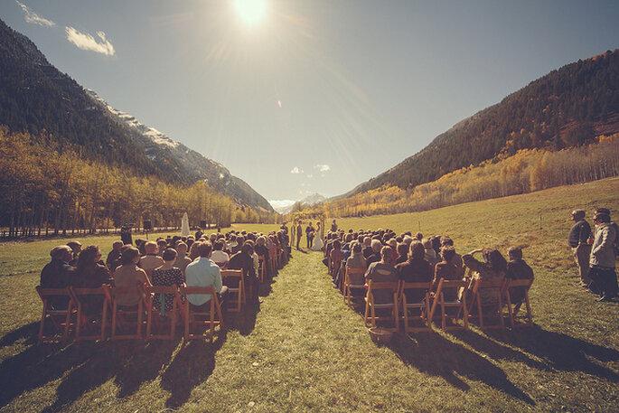 Ceremonia en el bosque. Foto: Ryan Polei