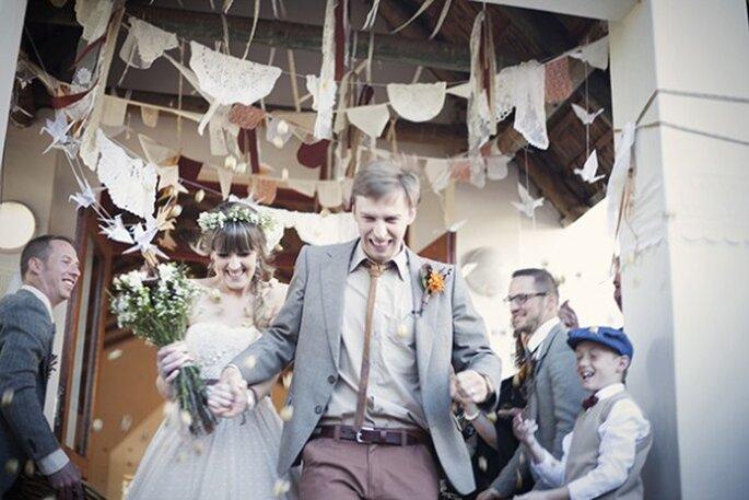 Ideas geniales para tener una boda con estilo urbano - Alice Swan