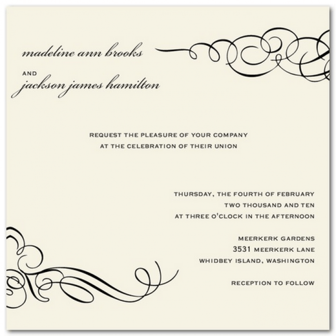 Combina distintas tipografías que aumenten la creatividad del diseño - Foto Wedding Paper Divas