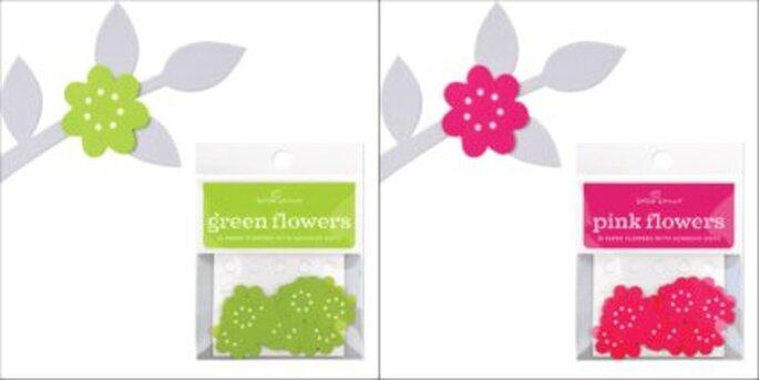 Flores decorativas para el ábol de los deseos - www.lacaperucitadigital.com