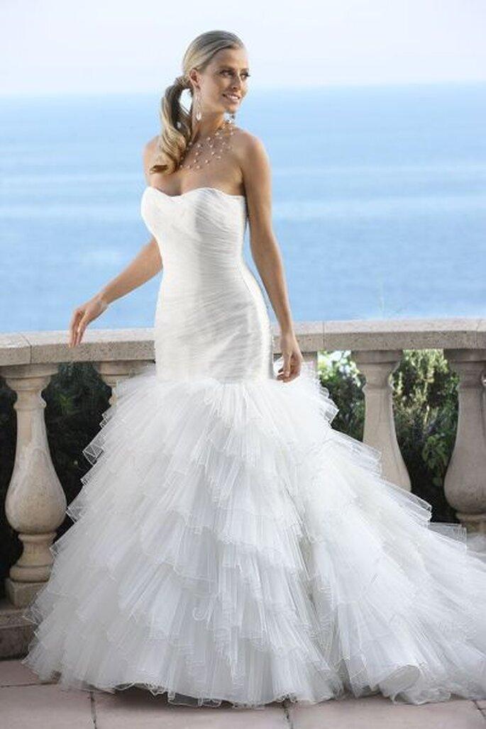 Hochzeitskleid in Weiß von Ladybird 2012 - Photo © www.arnoldhenri.com