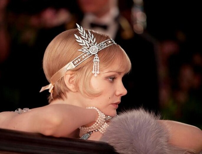 "Exuberancia y mucho glamour en un look de novia inspirado en ""The Great Gatsby"" - Foto Tiffany & Co. Facebook"