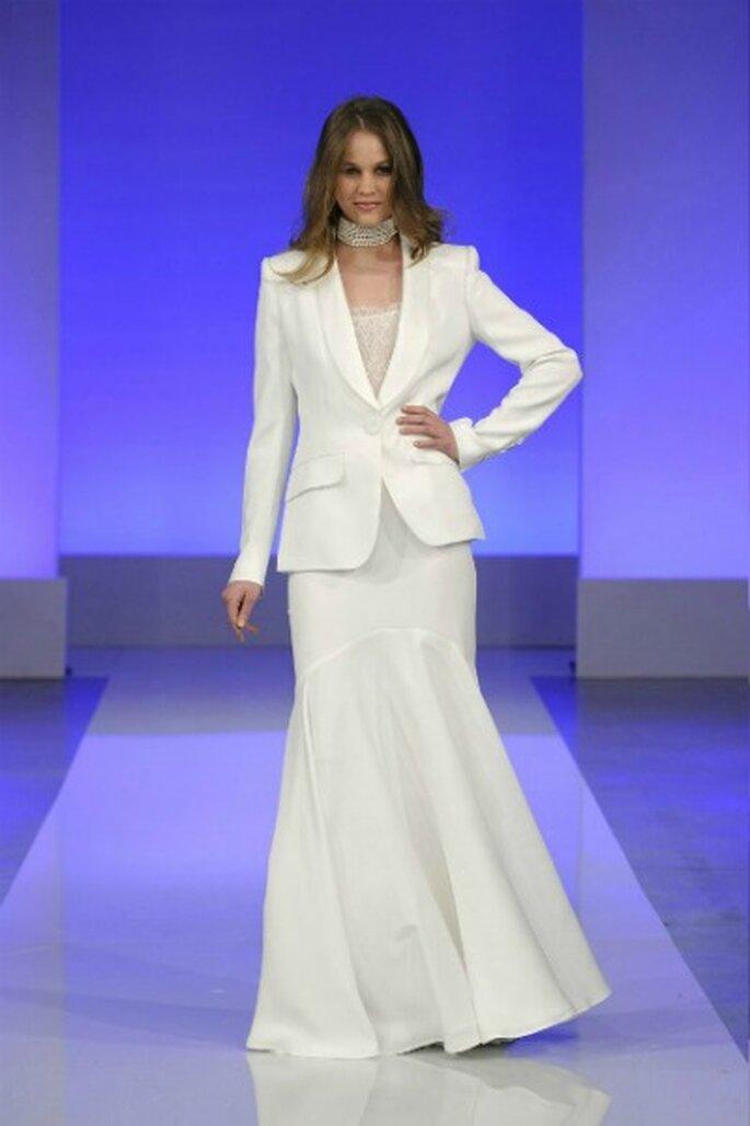 Robe de mariée Cymbeline 2013 La Parisienne, modèle Grenelle - Photo : Cymbeline