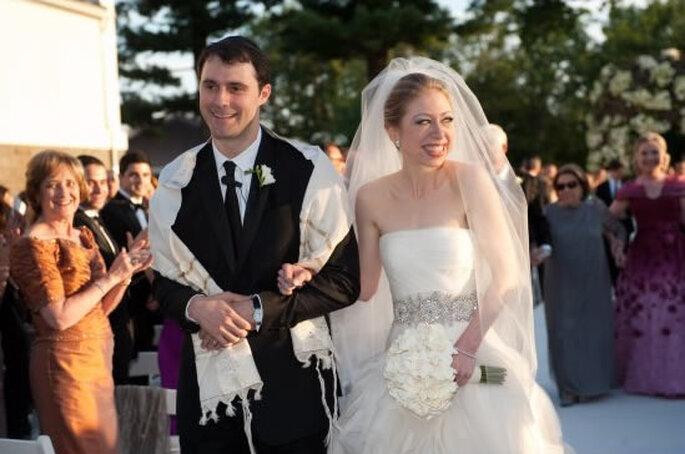 Vestido de novia de Chelsea Clinton