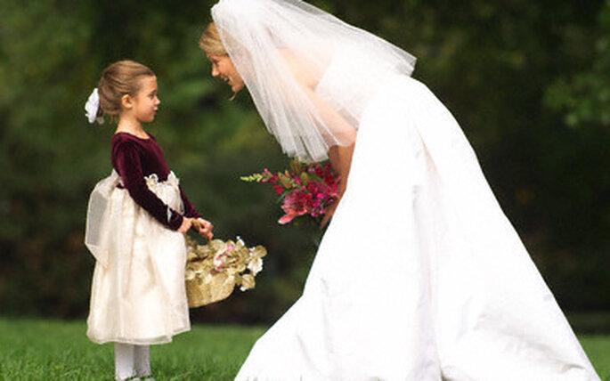 Comment s'occuper des enfants lors d'un mariage?