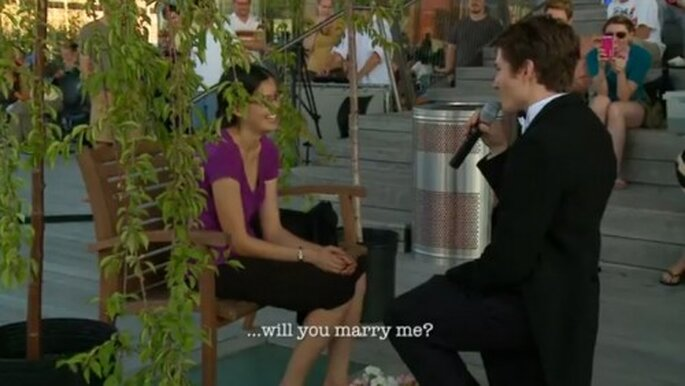 Propon matrimonio con ayuda de extraños - Foto TeresaAndJack