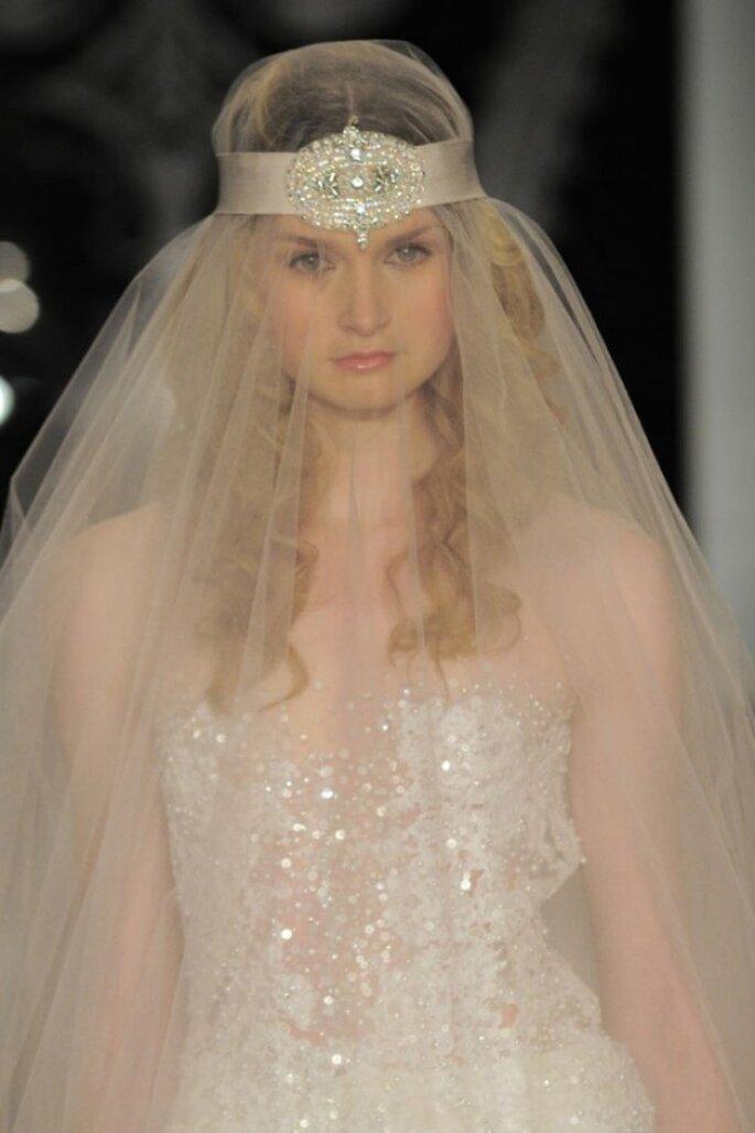Los velos de novia más elegantes para 2014 - Foto Reem Acra