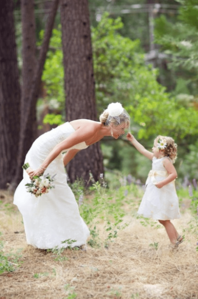 Fórmulas para disfrutar a los invitados más pequeños en tu boda - Foto Cameron Ingalls Photography
