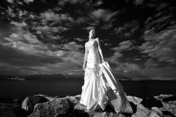 Splendido ritratto della nostra sposa sposata Letizia! Foto Edoardo Agresti Photographer
