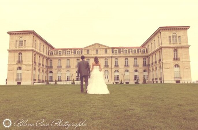 Le lieu de réception du mariage donne le ton ! - Photo : Blanc Coco Photographe