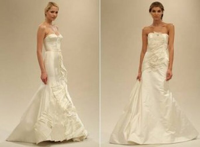 Vestidos de novia sirena 2011 de Reem Acra