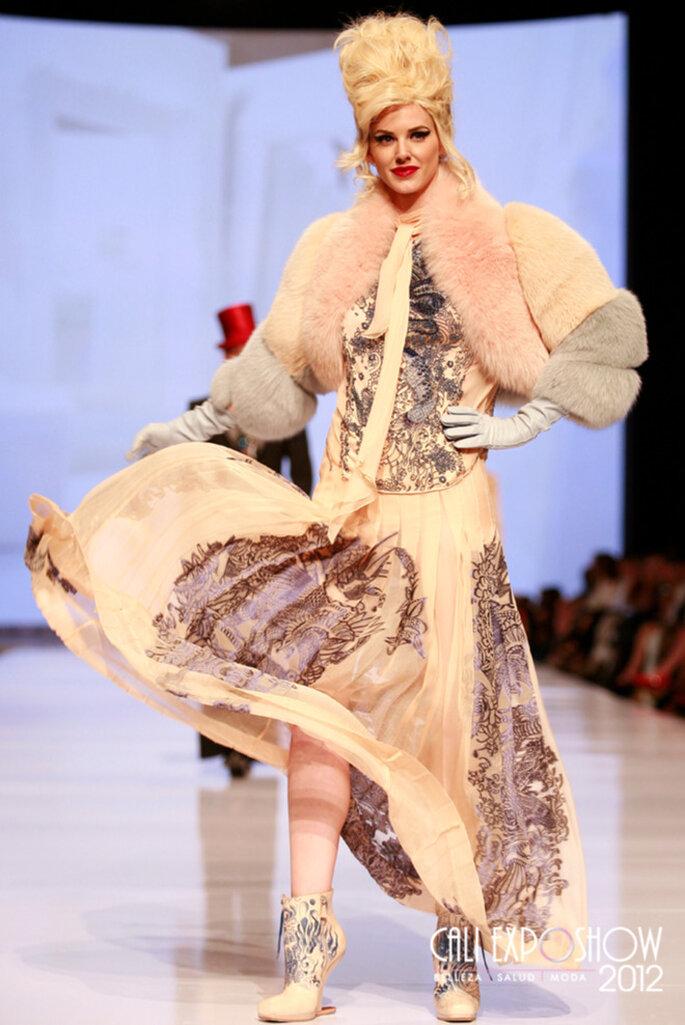 Pasarela Internacional Jean Paul Gaultier CALI EXPOSHOW 2012
