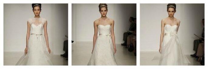 Brautkleider mit zartem Taillenband von Christos – Foto: Christos