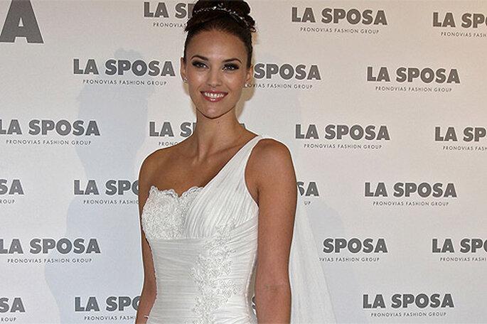 Helen Lindes ha presentado los vestidos de la colección 2013 de La Sposa. Foto: La Sposa
