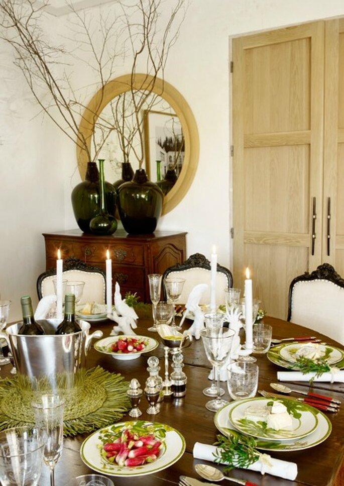 Una decoraci n de lujo para las mesas de la boda - Zara home sevilla ...