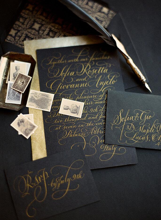 Máxima elegancia en tu boda - Foto Heather Waraksa