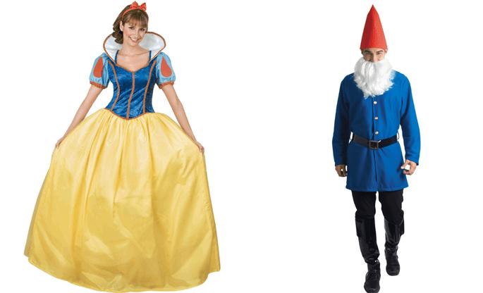 Ideas para disfrazarte con tu pareja-Cachivaches-blancanieves