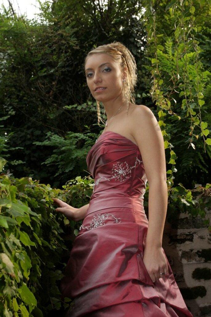 Un bel primo piano della nostra sposa Marianna. Foto di Gianfranco Tadini