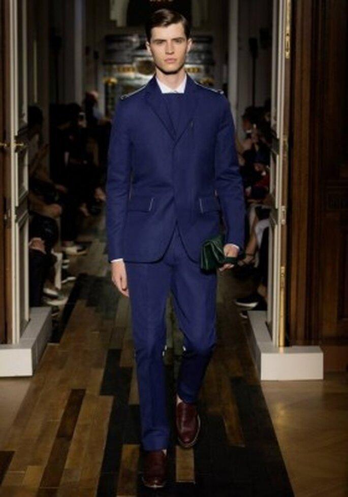 Valentino et son costume pour homme