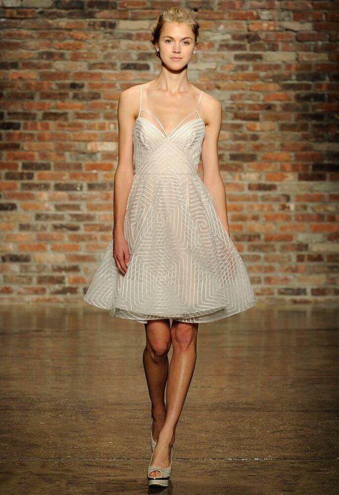 Tendencias en vestidos cortos. Foto: Hayley Paige