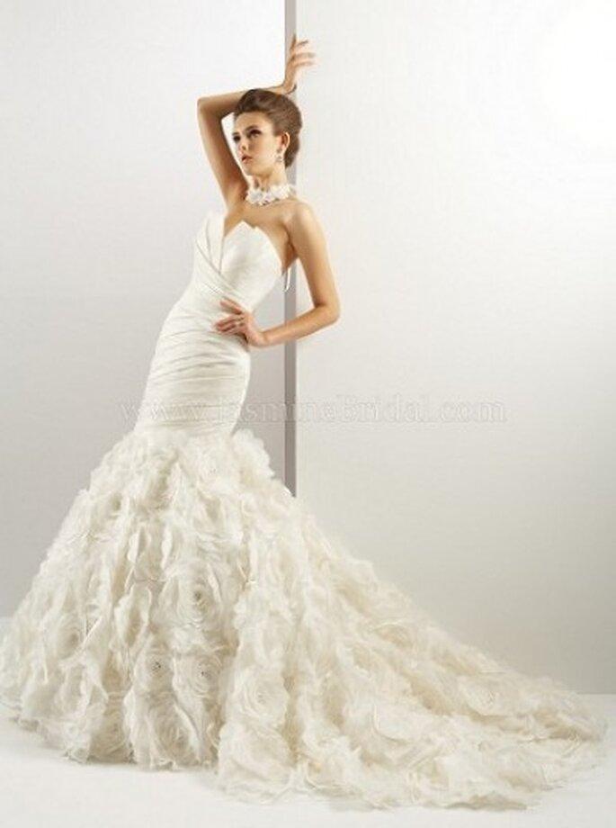 Sexy Brautkleid mit Schleppe im Meerjungfrauenstil – Modell T440