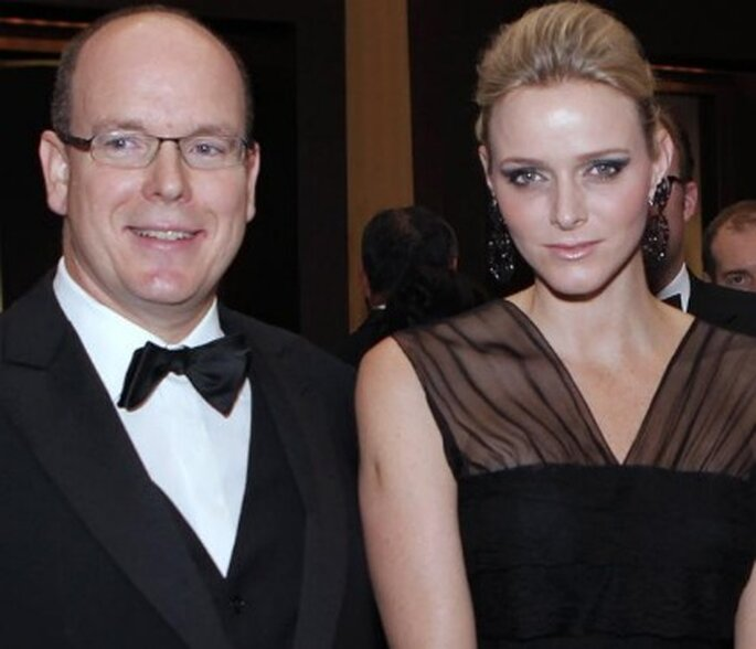 Alberto de Mónaco y Charlene Wittstock - Fuente: Hola