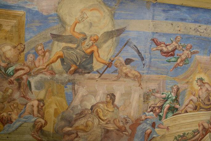 Per gli amanti dell'arte, Villa Sigurtà è una scoperta mozzafiato con i suoi affreschi e le sue volte decorate  - Foto: Marilena Mura