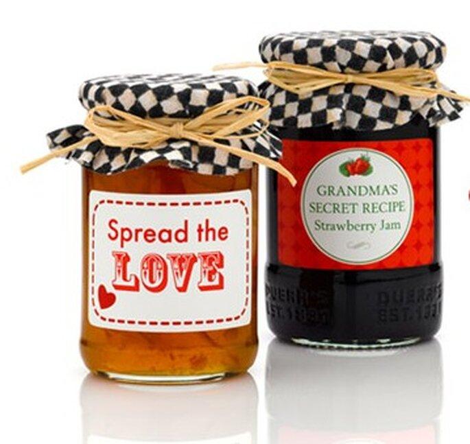 Selbstgemachte Marmeladen mit ausgefallenen Kreationen werden immer gerne angenommen.