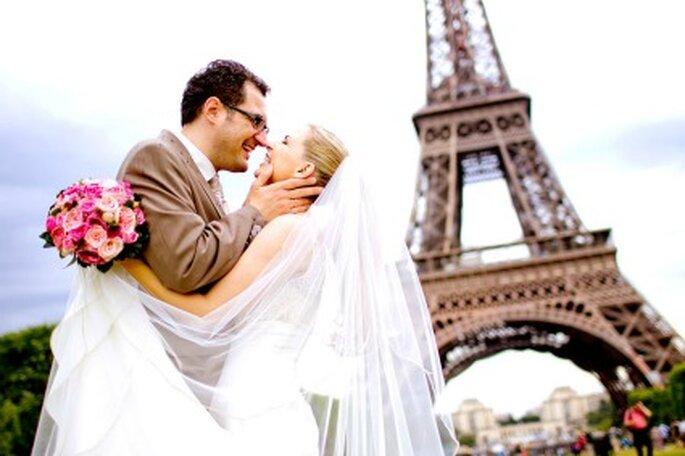 Casamento em Paris. Foto: Katja Schünemann