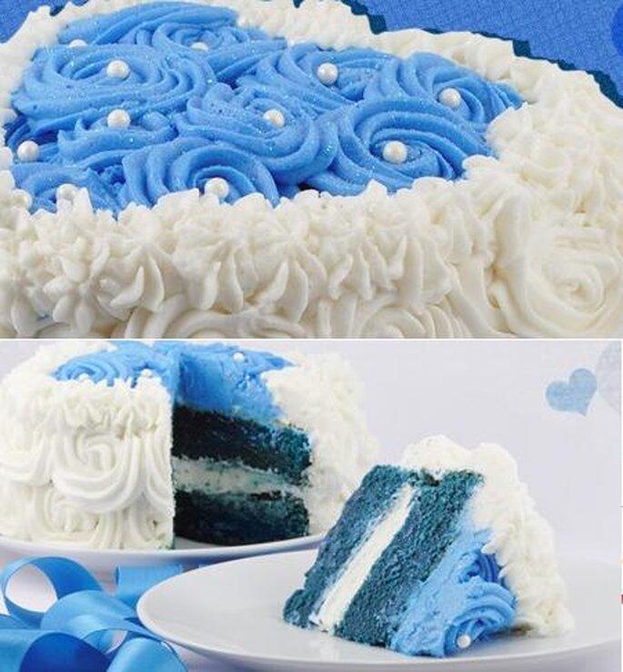 Postres para boda. Foto del sitio de HC cupcakes.